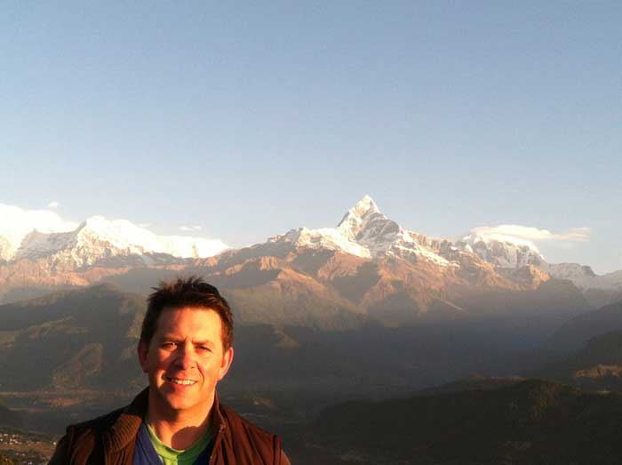 hugh in nepal